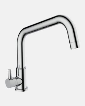 Sink Cock With Swinging Spout EXL (Wall Mounted)